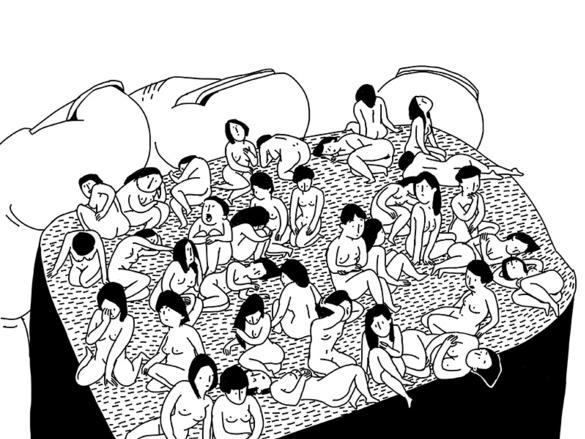 小漫画《寿司》_乐乐简笔画