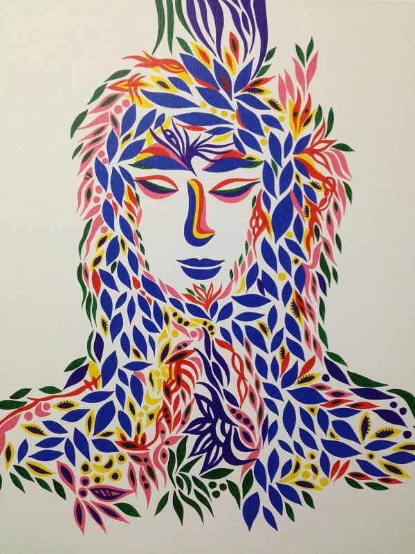 有人项目 - 丙烯手绘