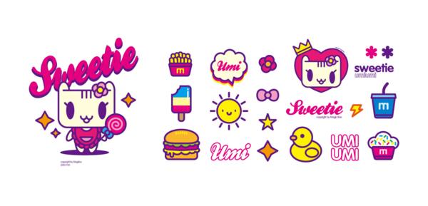 "megbox童装品牌建立及图形开发方案,以可爱卡通形象""UMIUMI"",贯穿整个品牌视觉.百搭百变的理念配合解决,男童女童并集的品牌整合. 飞跃式成长,成就传奇。魔法盒子童装品牌创立于2012年,...是中国领先具有国际视野的时尚大众童装品牌。主张童年不同样的品牌理念,为孩子们提供既时尚又实用的儿童服饰产品,适用于不同的场合和活动,让孩子们享受美好自在的童年。产品已全面覆盖0-12岁儿童的服装、童鞋、配饰品类。注重消费者购物体验,一站式的零售空间提供多样的专业时尚产品,持续创造选择丰"