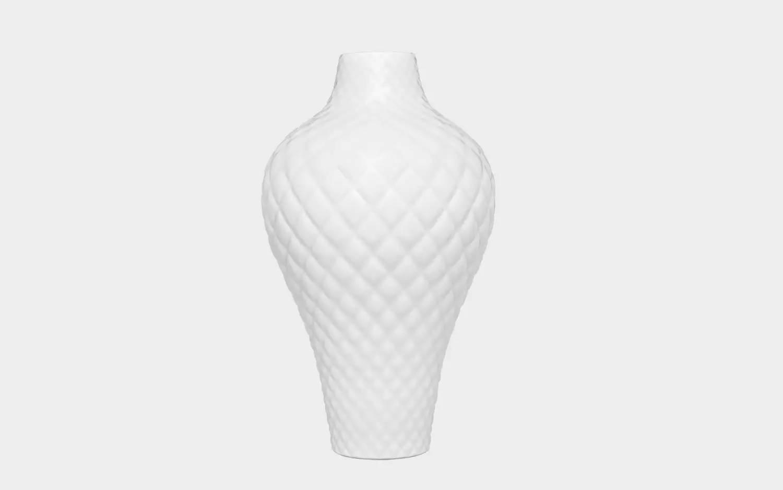 立体雕刻花瓶