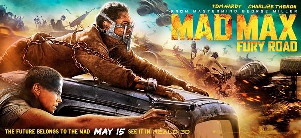 《疯狂的麦克斯4:狂暴之路》宣传海报